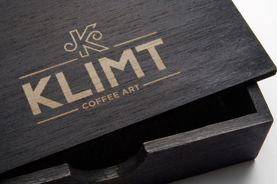 Klimt Coffee Art